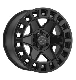 Black Rhino York 17x8  6/130 ET 38, MATTE BLACK, Mercedes Sprinter