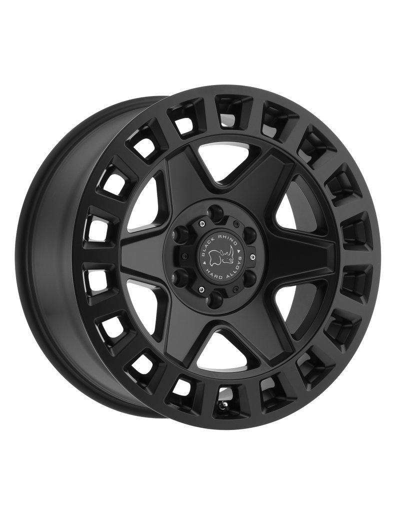 Black Rhino York 17x8  6/130 ET 38, MATTE BLACK,  Mercedes Sprinter