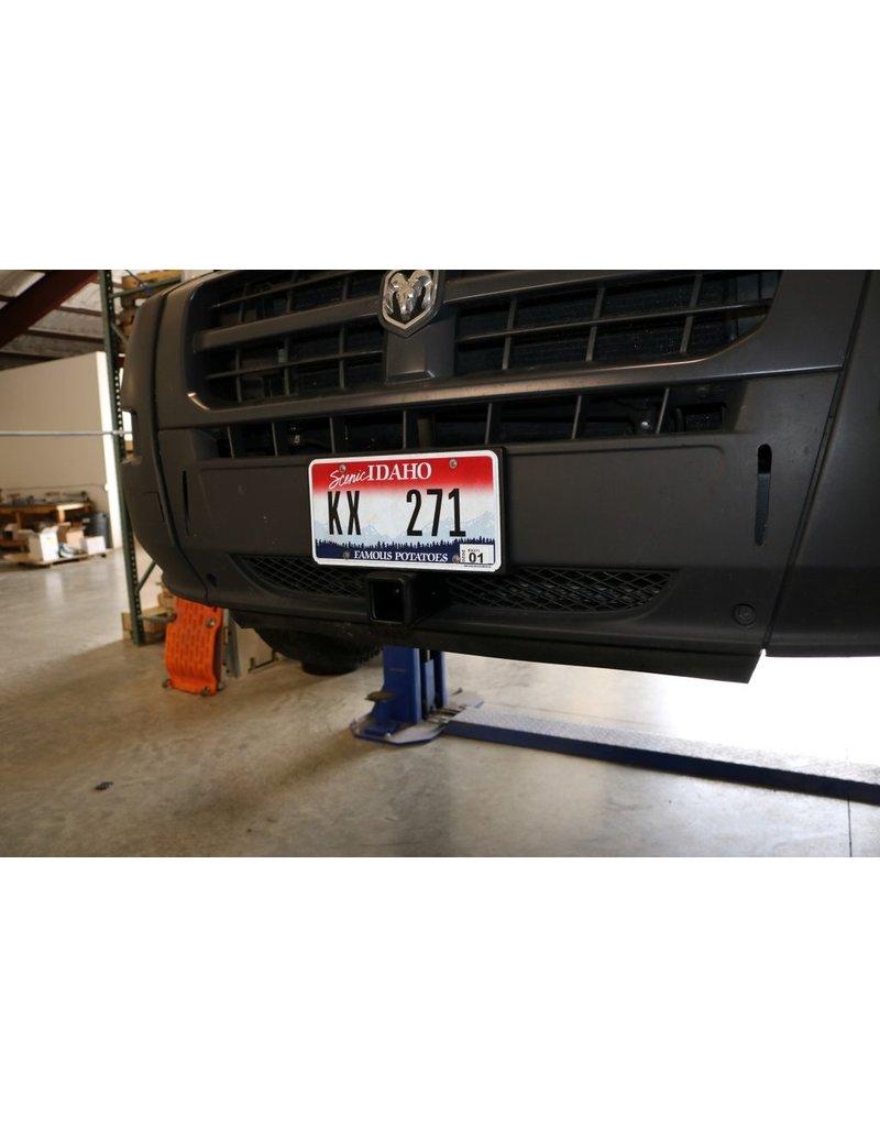 VAN COMPASS™ FRONT RECEIVER HITCH FIAT DUCATO-CITROEN JUMPER -PEUGEOT BOXER
