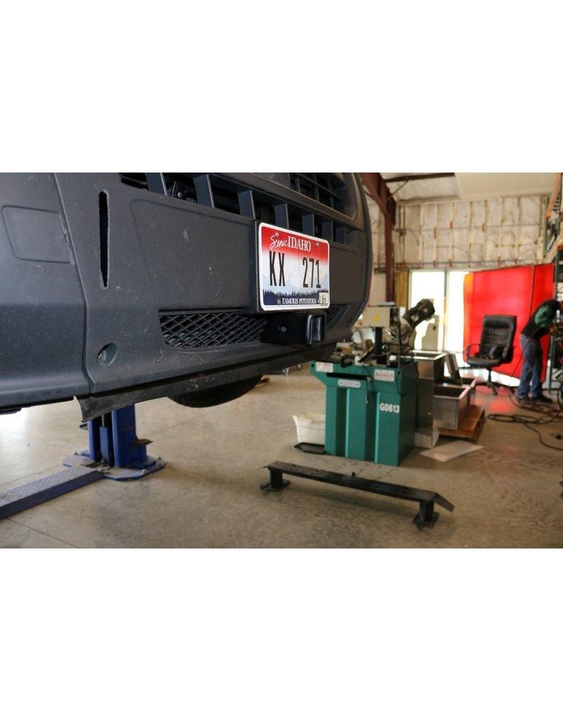 VAN COMPASS ™ VORDERE STOSSSTANGE MIT QUADRATISCHER AUFNAHMEKUPPLUNG FIAT DUCATO-CITROEN JUMPER -PEUGEOT BOXER