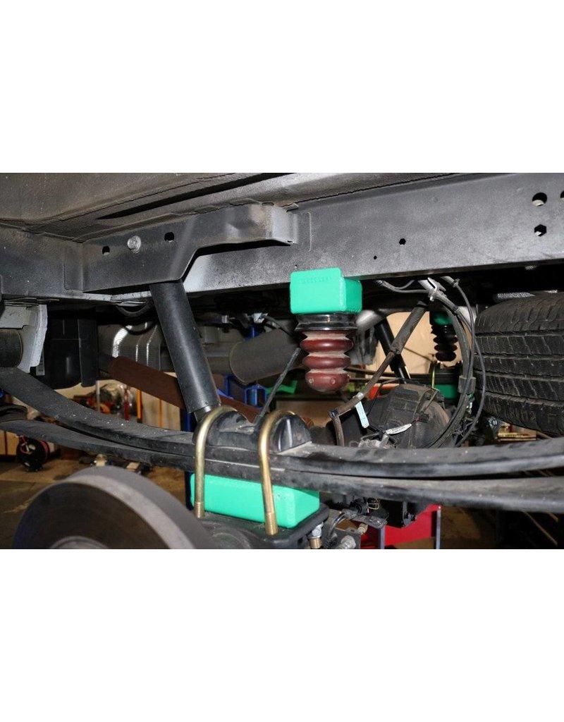 """VAN COMPASS TERRAIN FORD TRANSIT 2014+ 2WDZwillingsbereift,Komplettset 2.5"""" Fahrwerkshöherlegung"""