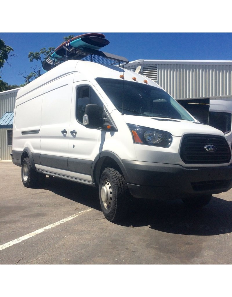 "VAN COMPASS™ FORD TRANSIT DUAL REAR WHEEL 2014+ 2WD 2.5"" SUSPENSION LIFT SYSTEM TERRAIN"
