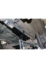 VAN COMPASS PACK DE RESSORTS A 5 LAMES ARRIERE SUPPLEMENTAIRE POUR FORD TRANSIT (roue simple) (avec ressort à lames de deux lames ex usine.), rehausse 2,5-5,7 cm