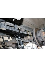 VAN COMPASS Hinterachs- Zusatz Blattfederpaket für FORD TRANSIT 2014+ einzelbereift mit Doppelblattfeder ab Werk / Höherlegung 2,5 -5,7 cm