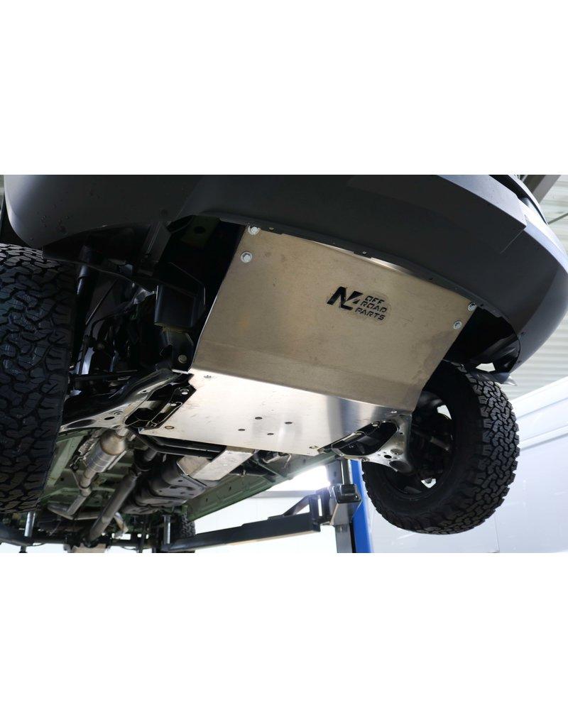 N4 Aluminium-skid plate /engine protection for Mercedes Sprinter II/III (906) 4x4