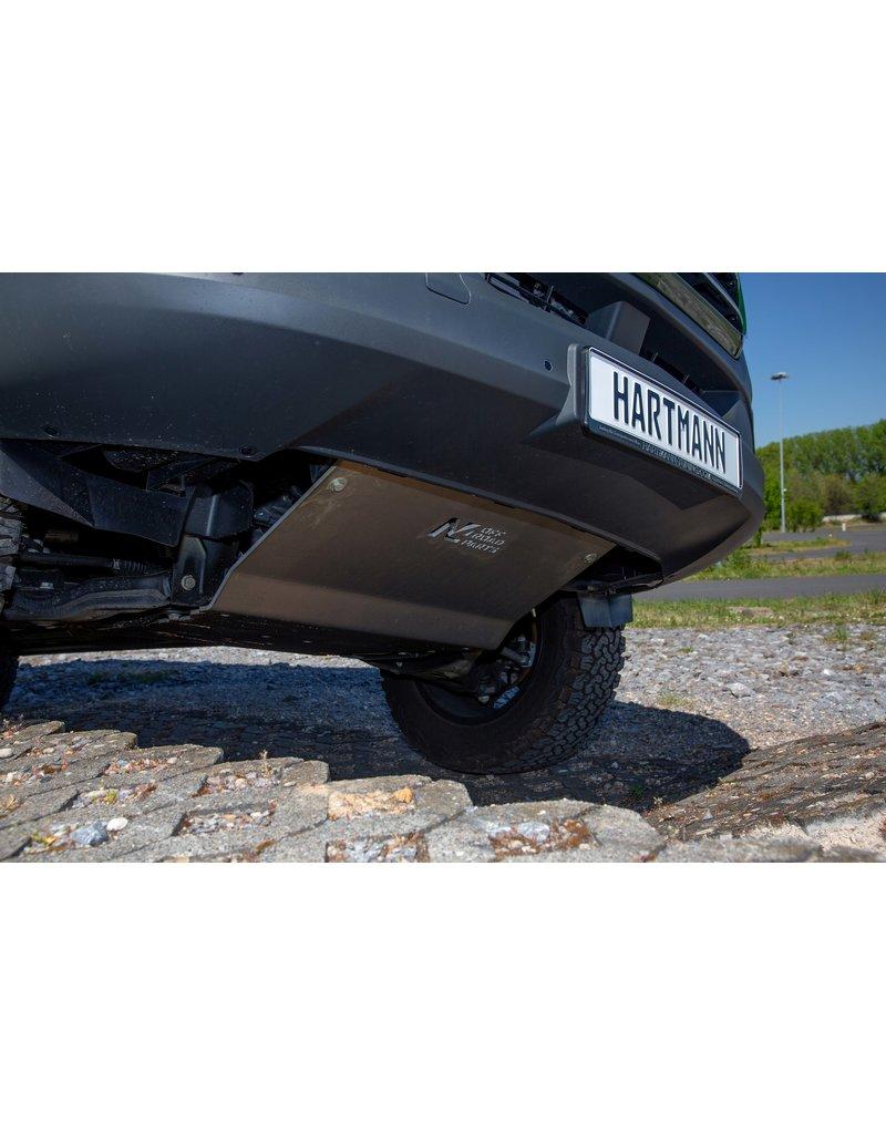 Mercedes Sprinter 907  4x4 Unterfahrschutz Motor Alu 8 mm
