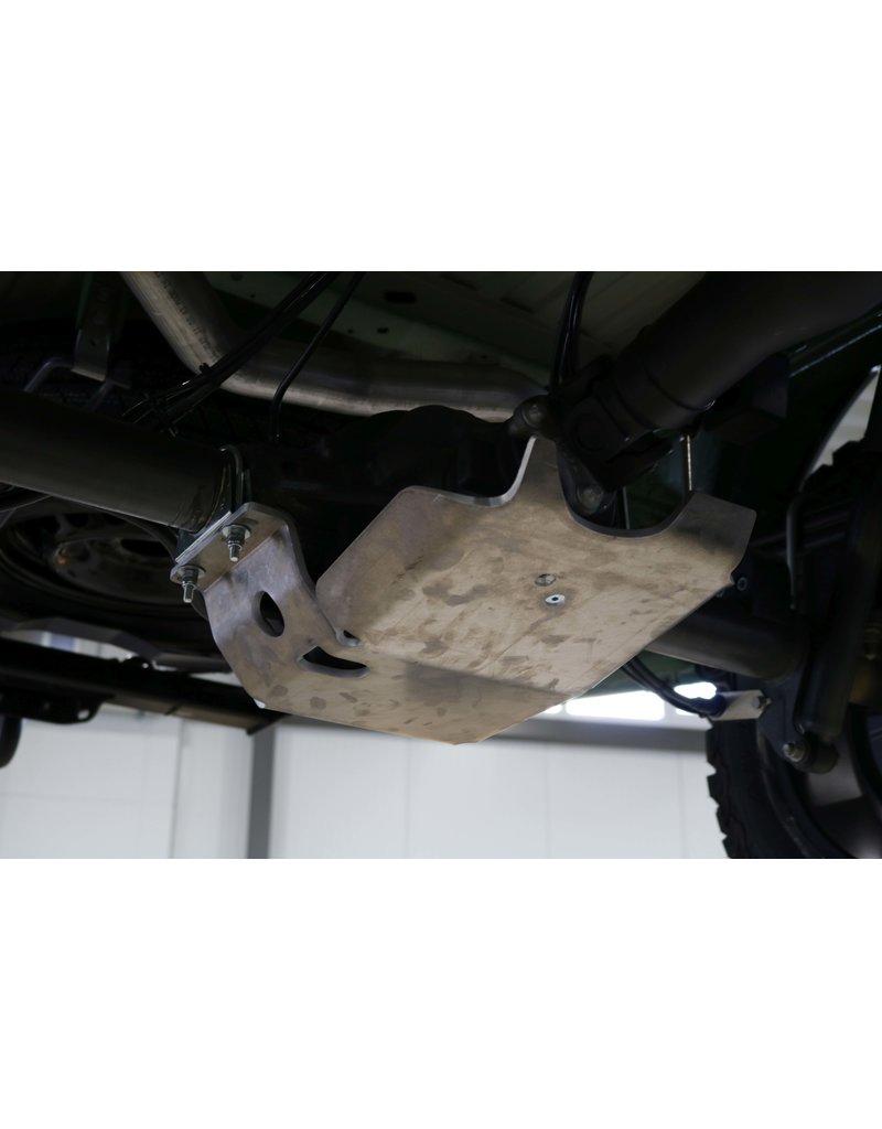 Mercedes Sprinter 907 4x4 Unterfahrschutz Hinterachsdifferential Alu 8 mm