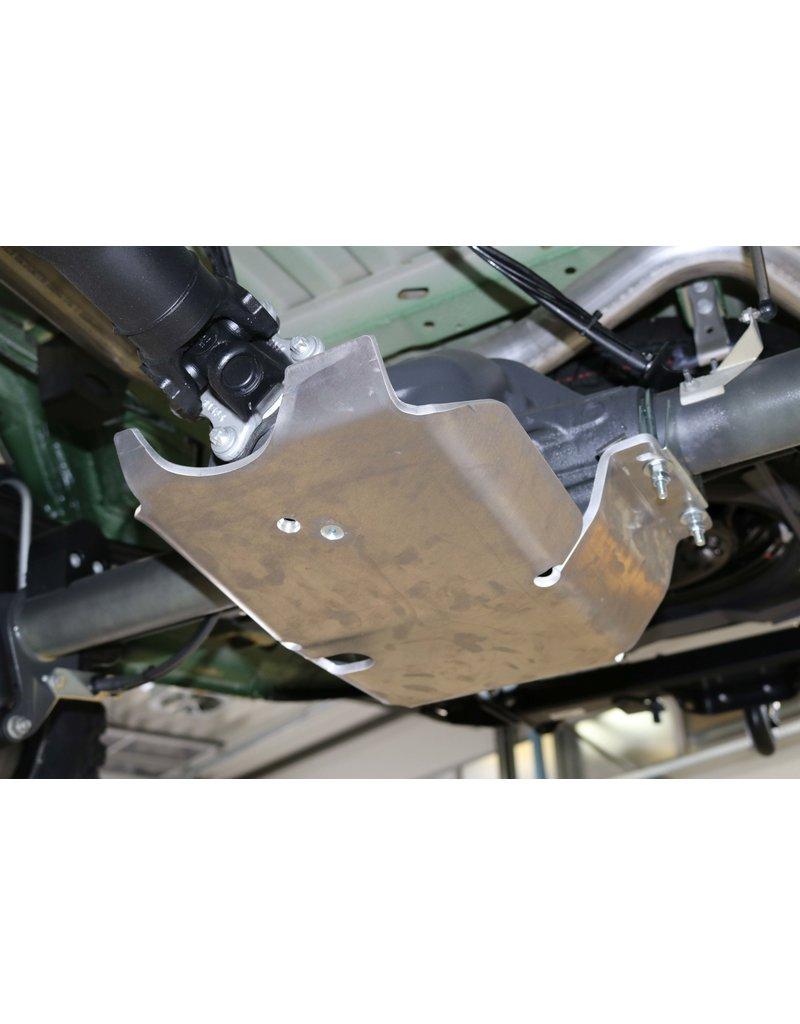 Mercedes Sprinter 906 4x4 Aluminium-protection/ skid plate for differentiel