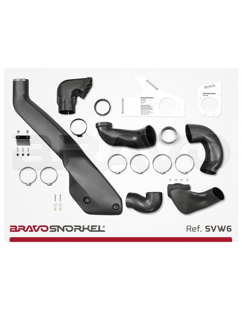 Snorkel for VW T5 and T6 from 2003 onwards