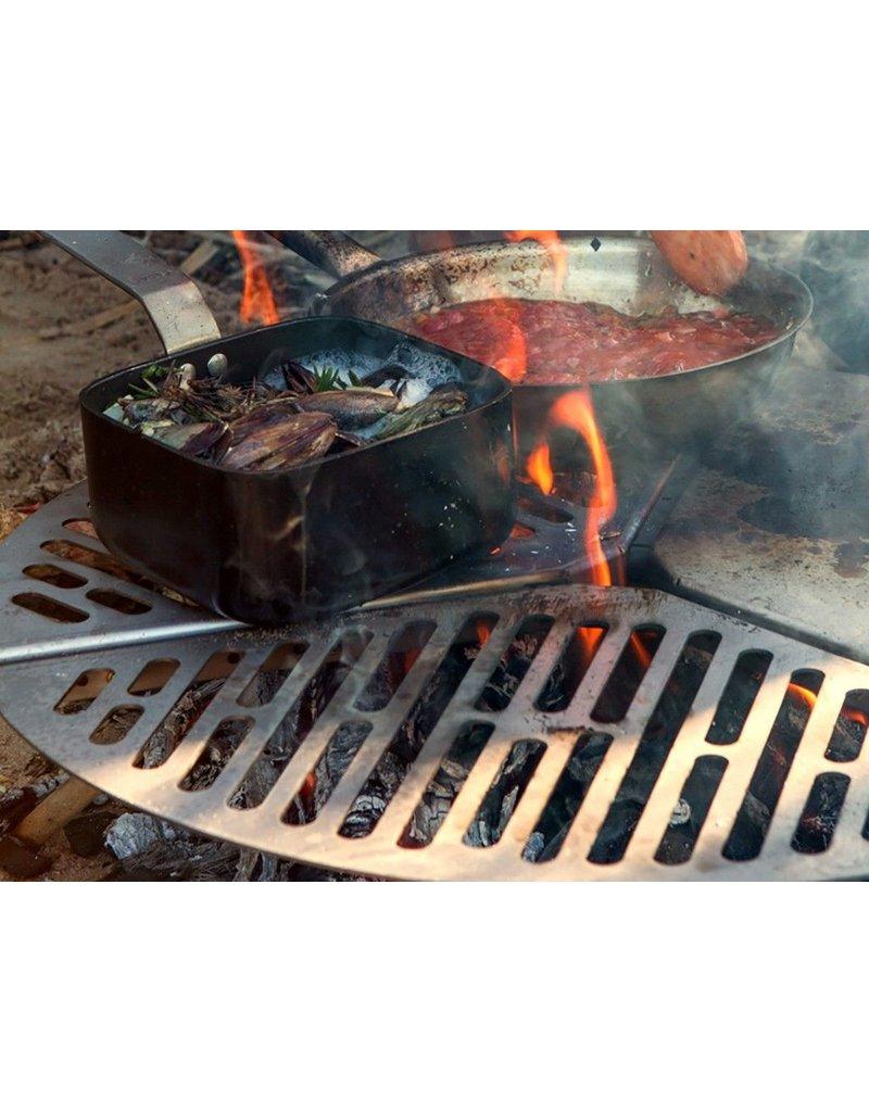 SPARE TIRE MOUNT PLANCHA/BRAAI/BBQ GRATE