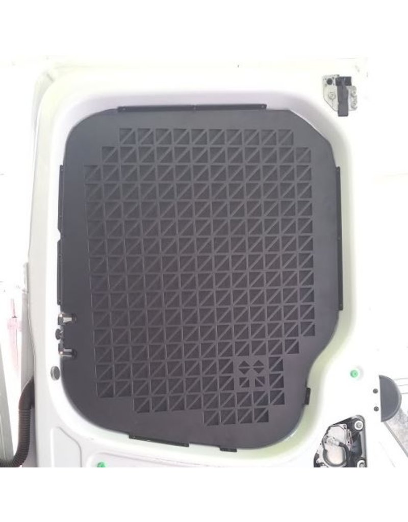 Window protection grille / cargo pocket mount for Mercedes Sprinter 907