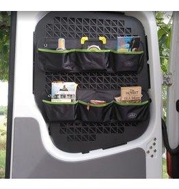 Fensterschutzgitter / Taschenhalterung für VW T5/6 Doppelhecktür