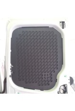 Window protection grille / cargo pocket mount for VW T5/6 double door