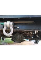 Original square US receiver hitch for Sprinter 907