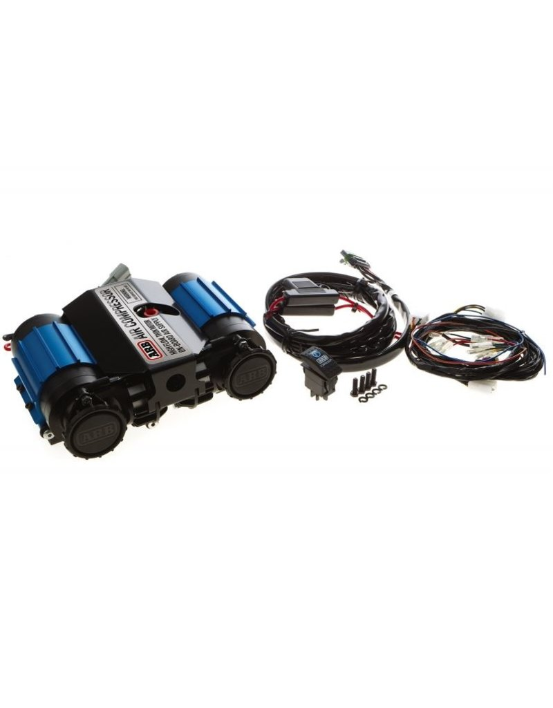 ARB Maximum Performance Twin on-Board Air Compressor