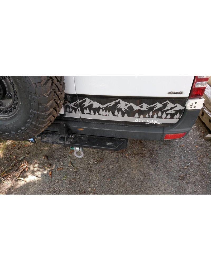 VAN COMPASS Sprinter 906 Trittstufe für Anhängerpupplung