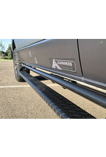 Aluminess Mercedes Sprinter 906/907 Nerfbars, Seitenschwellerschutz optional mit Trittstufe