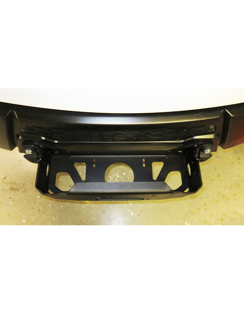Winchplate for IVECO Daily 4x4 2019+ winch mounting kit