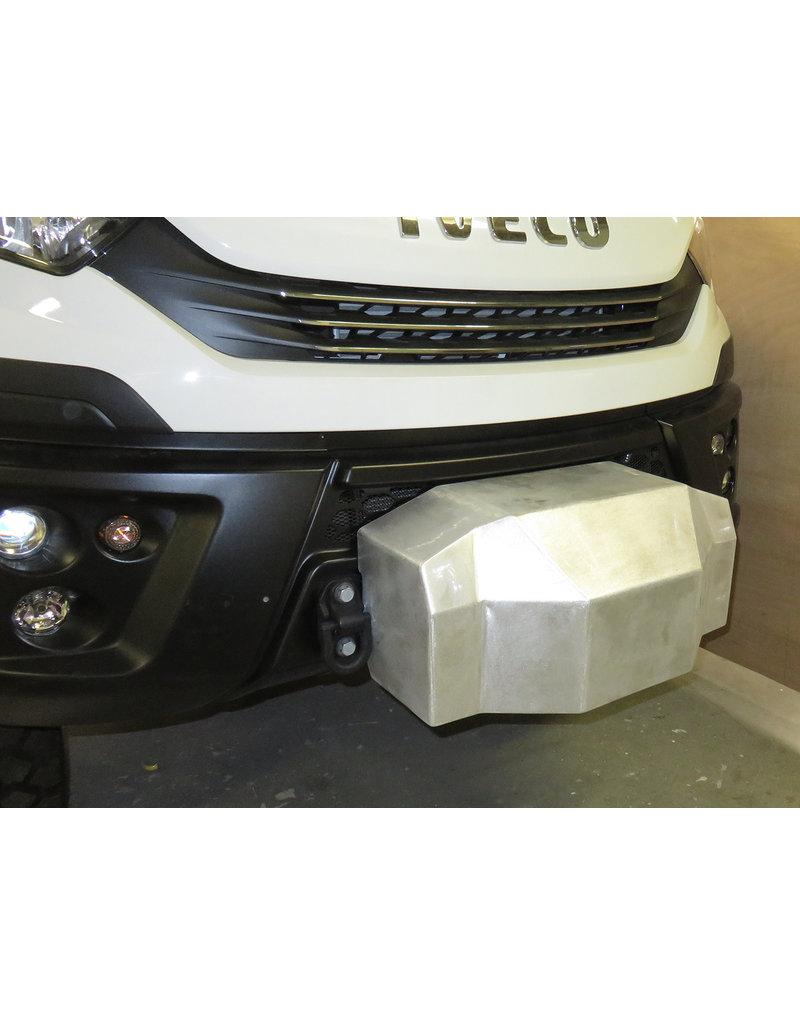 Capot de protection en aluminium pour la platine KMT029