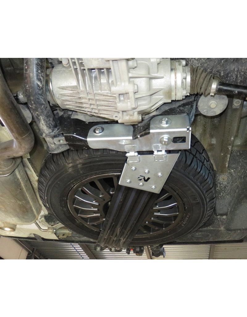 N4 Kit de modification du panier de roue de secours pour les roues off-road