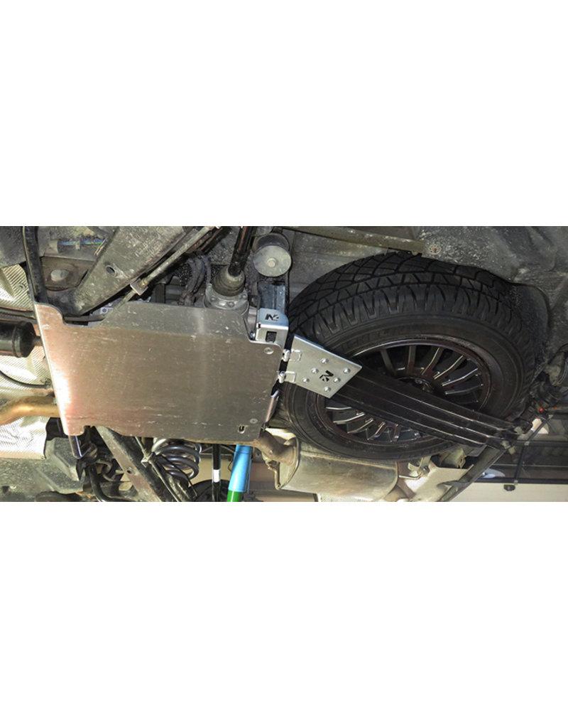 N4 Reserveradhalterungs-Modifikationskit für größere Offroad-Räder