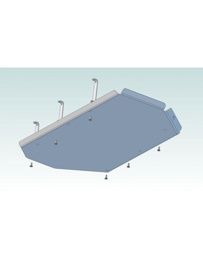 N4 Aluminium-skid platl tank /skid plate VW T5/T6e /fuel tank protection for VW T5 /T6 4 motion