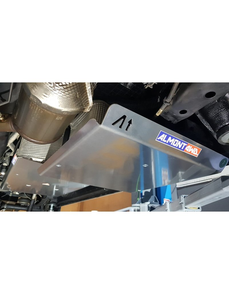 6 mm Aluminium-Schutzplatte AdBlue®-Tank für VW CRAFTER / MAN TGE 4X4 2019+