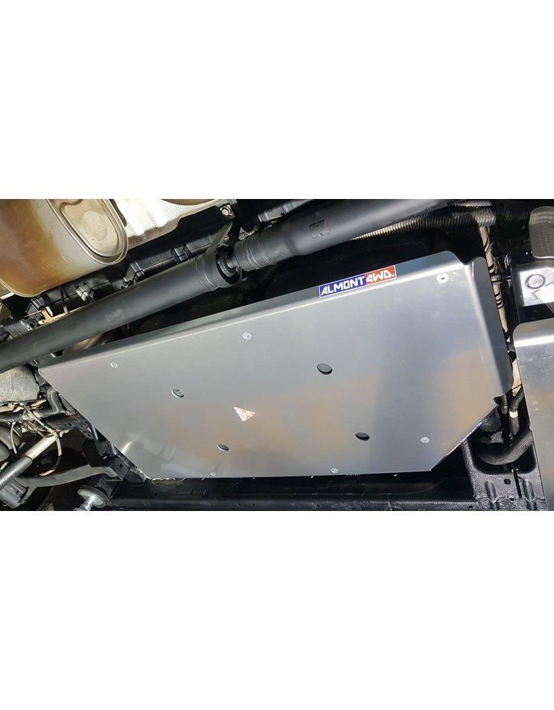 6 mm alu  - Blindage de réservoir  pourVW CRAFTER / MAN TGE 4X4 2019+