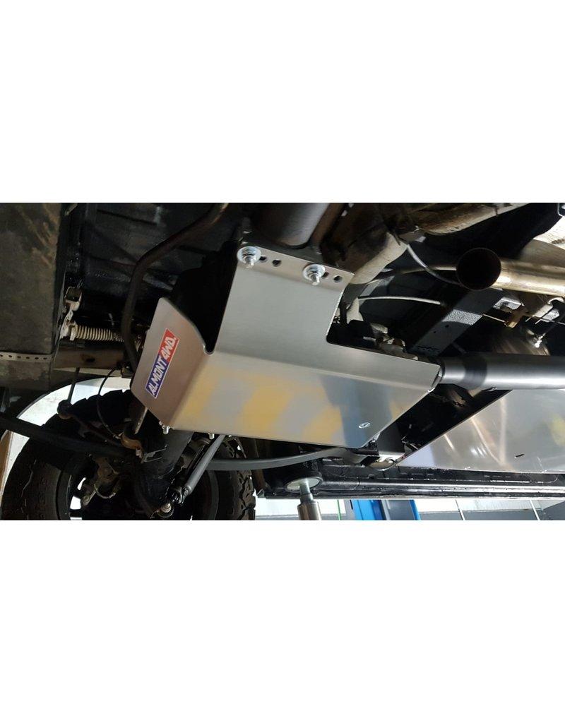 6 mm AluminiumSchutzplatte für Allradkupplung/Differential für VW Crafter / MAN TGE 4x4 ab 2017