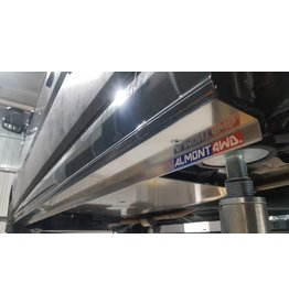 Ski de protection laterale VW Crafter + MAN TGE empattement 3640 mm