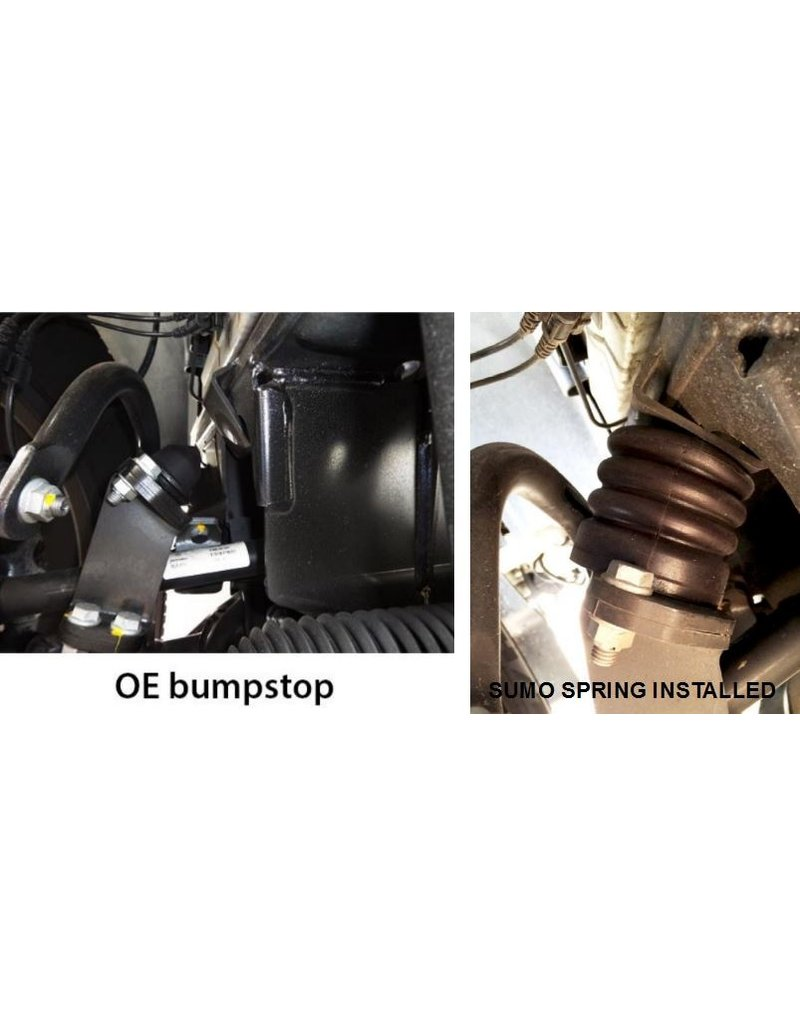 SUMO SPRING FRONT BUMP STOP (pair) for Sprinter 906 & 907 4x4 3,5-5 T