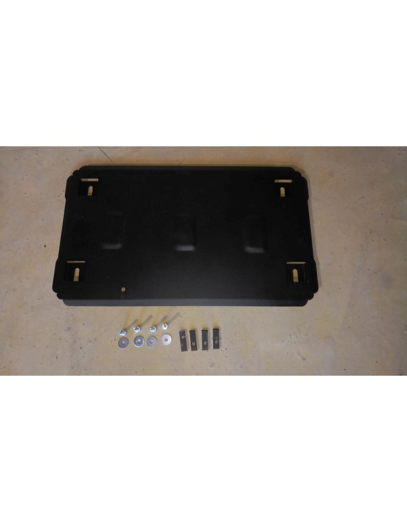 2 mm steel engine skidplate  for Vito /Viano 639 2WD  2.2 & 3.0 CDI