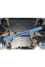 2 mm steel transmission skidplate for Mercedes Vito /Viano 639 2WD 2.2 CDI