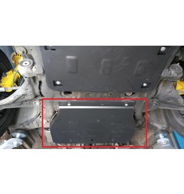 2 mm steel transmission skidplate  for Vito /Viano 639 2WD  2.2 CDI