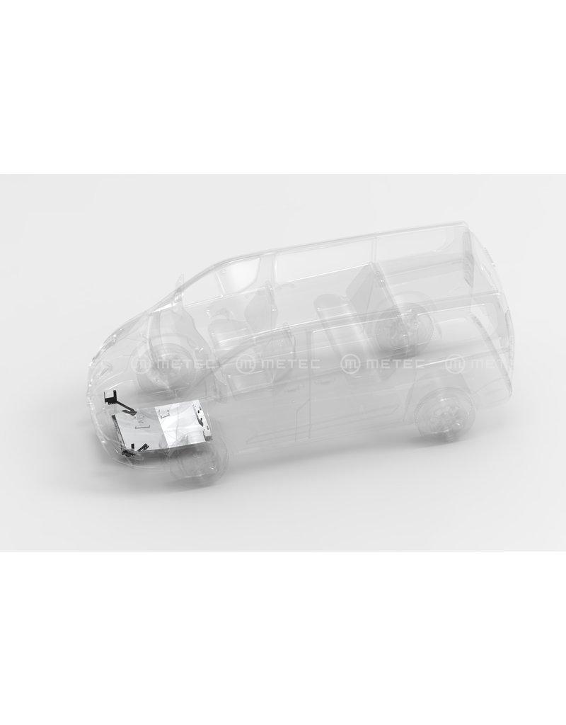 FORD TRANSIT 2014-2019 engine skidplate 5 mm aluminum