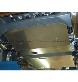 FORD TRANSIT 2019+ engine skidplate 5 mm aluminum