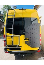 VW Crafter I -  OVE Backpacker - universal carrier system on right back door (180°door)