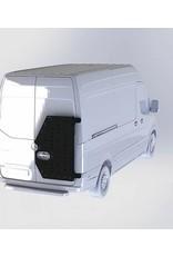 Mercedes Sprinter 907 -  OVE Backpacker - universal carrier system on right back door (180°door)