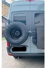 Mercedes Sprinter 907/910//VS30 spare wheel carrier on left door (180°door)