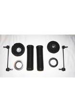 Reparatur- und Zubehörsatz für Höherlegung bzw für Stoßdämpfer und/oder Federtausch für Vorderachse und/oder Hinterachse für VW T 5/6