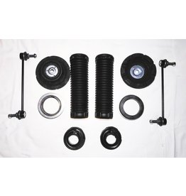 Kit de réparation pour kit de rehausse ou pour un remplacement des amortisseurs et / ou des ressorts pour l'essieu avant et / ou l'essieu arrière pour  VW T 5/6