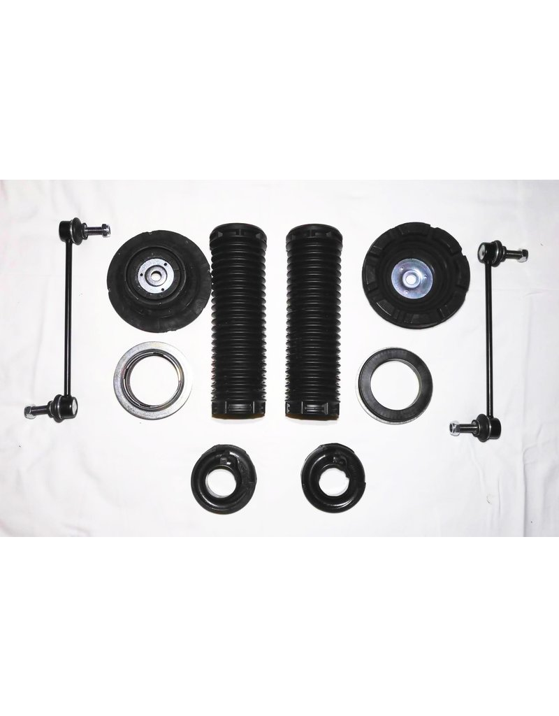 Repair and accessory kit for body lift kit or for shock absorbers and / or replacing springs for the front axle and / or rear axle for  VW T 5/6