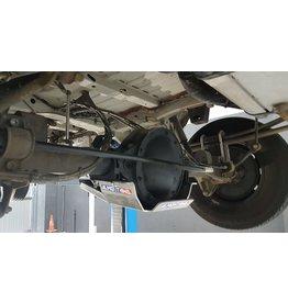 Sprinter 906 /907 4x4 Ski de protection nez de pont arrière alu 6 mm