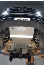 Mercedes Benz Sprinter 4x4 907    8 mm Aluminium Unterfahrschutz für Motor, Kühler, Frontdifferential