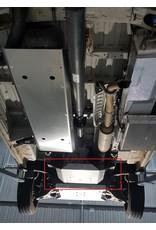 Mercedes Sprinter 907 4x4 Unterfahrschutz Getriebe und Verteilergetriebe Alu 8 mm