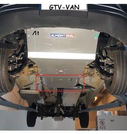Sprinter 907 4x4 Unterfahrschutz Getriebe und Verteilergetriebe Alu 8 mm