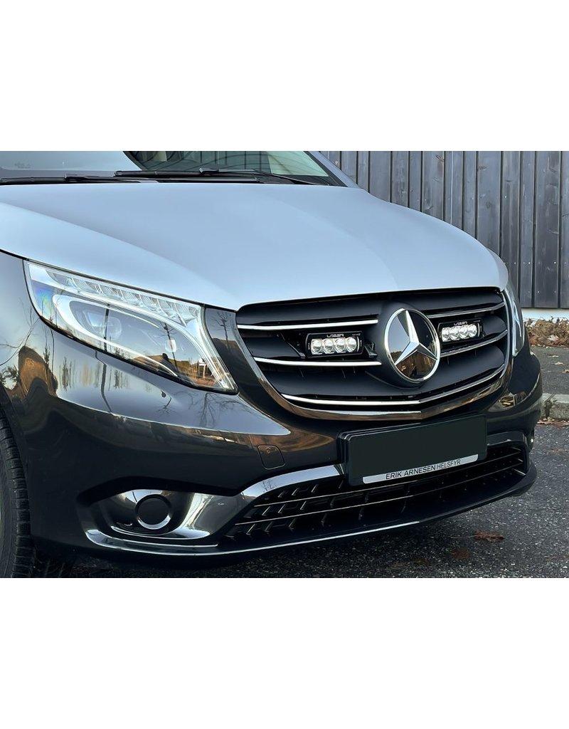 LAZER LED ST4 Evolution Kühlergrill-Integrationskit zugelassen für Mercedes Vito / V Klasse 447 (2020+)