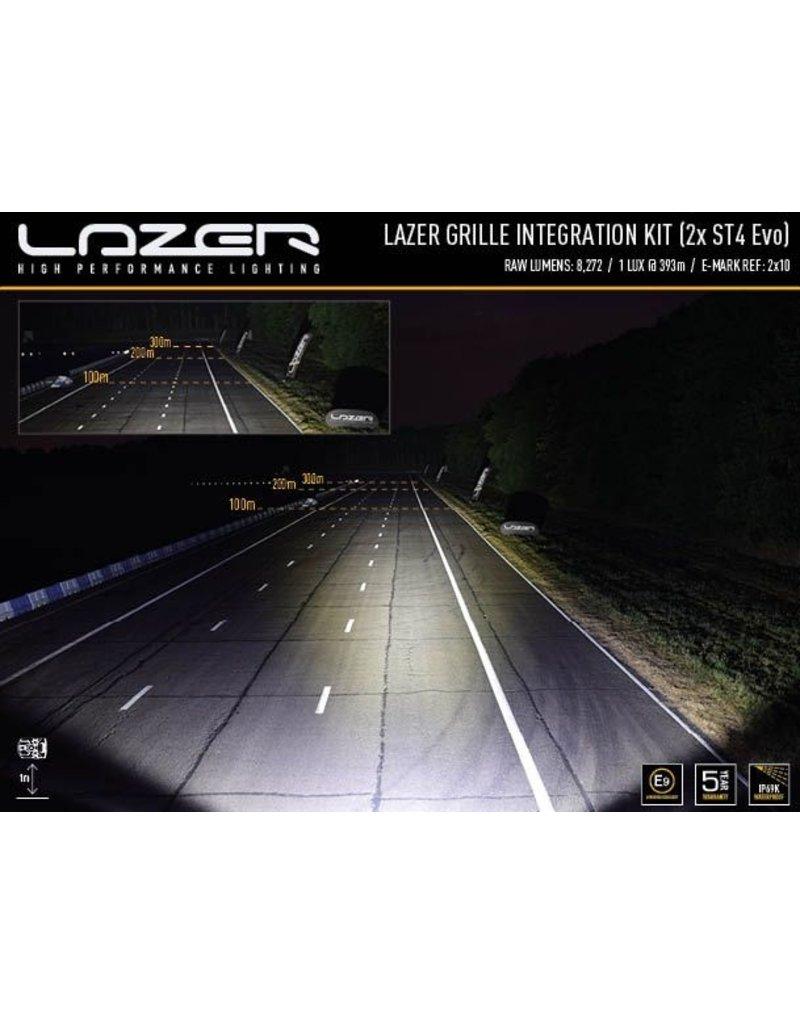 LAZER LED ST4 Evolution grille integration kit approved Mercedes Vito/V class 447 (2020+) headlights