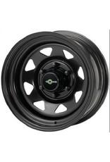 GOSS Triangular II Black steel rim for VW T5/6 and Amarok (except V6) 7x16  5/120 ET 28 CB65.1