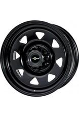 GOSS Triangular II Black Stahlfelge für VW T5/6 und Amarok (außer V6) 7x17  5/120 ET 25 CB65.1